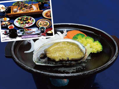 天草・車えび・あわびおどり焼き料理  バスツアーのイメージ