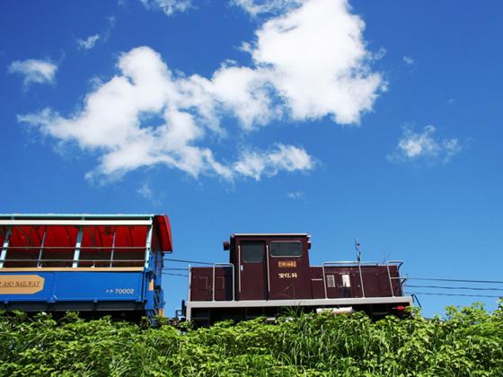 南阿蘇鉄道トロッコ列車  バスツアーのイメージ